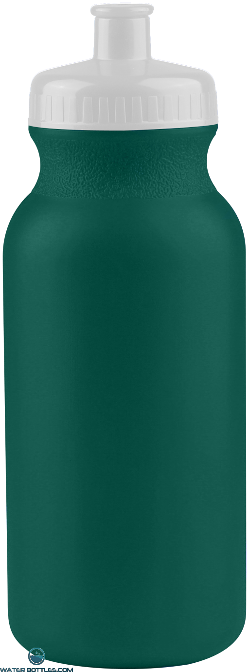 The Omni - 20 oz. Bike Bottles Colors-Eco-Dark-Green