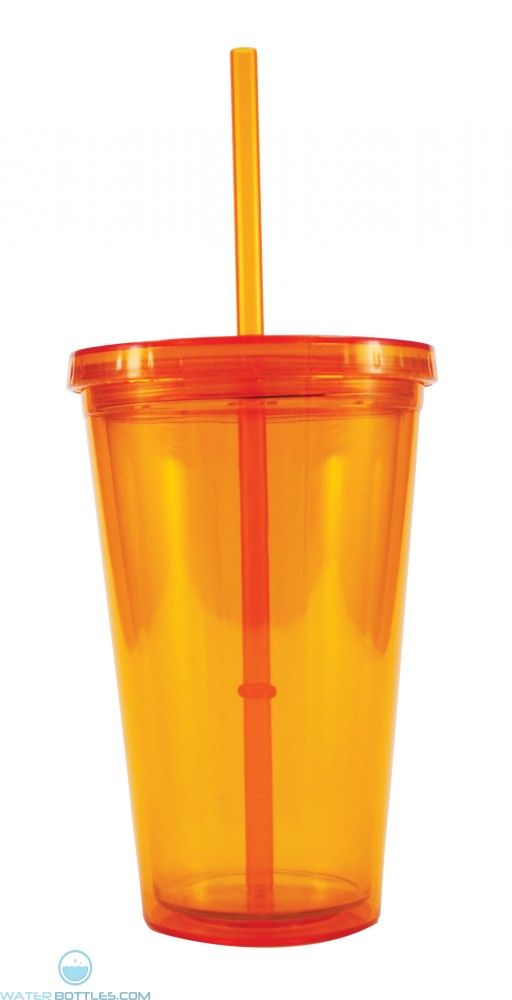 Freedom Tumblers   16 oz - Orange