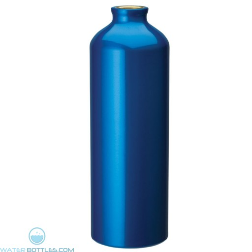 Flask with Carabiner   33.8 oz - Blue