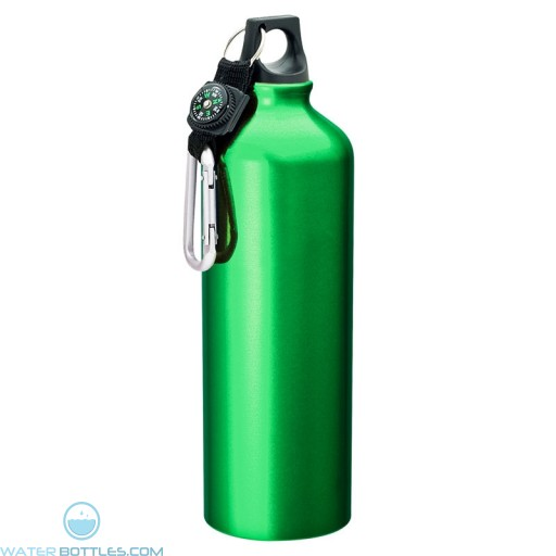 Flask with Carabiner | 33.8 oz - Green