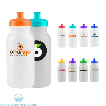 Custom Logo Water Bottles - The Omni - 20 oz. Bike Bottles