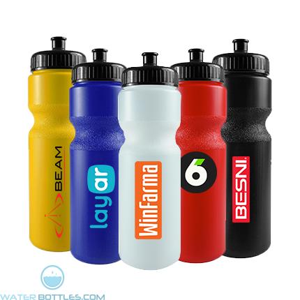 Personalized Water Bottles - The Journey Bottle - 28 oz. Bike Bottle Colors