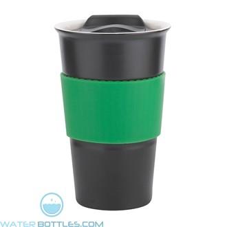 Java | 12 oz - Black with Green Gripper