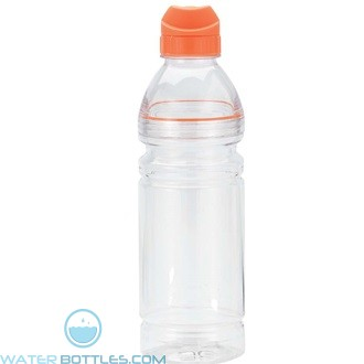 Gator | 24 oz - Clear with Orange Lid