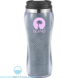 Hollywood With Snake Insert | 16 oz - Blue