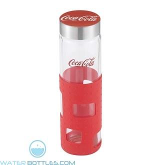 Custom Logo Water Bottles - Sili Window Glass Bottle   20 oz