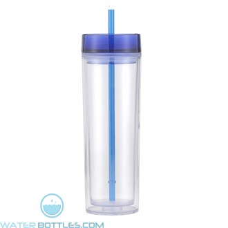Pandora | 16 oz - Clear With Blue Lid