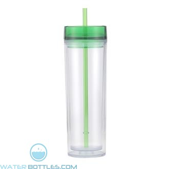 Pandora | 16 oz - Clear With Green Lid