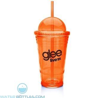 Slurpy With Dome Lid | 16 oz - Orange