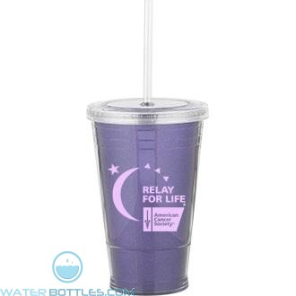 Slurpy With Ultra Insert | 16 oz - Purple