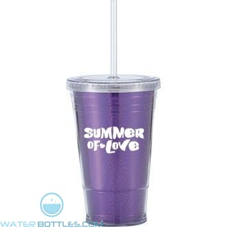 Slurpy With Disco Insert | 16 oz - Purple