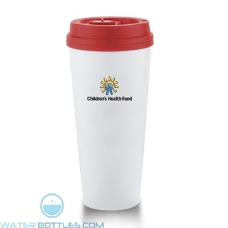I`m Not A Venti Cup | 20 oz - White with Red Lid