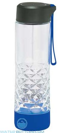 20 oz Geometric Glass Water Bottles