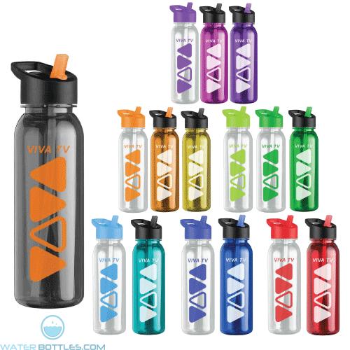 Personalized Water Bottles - The Outdoorsman - 24 oz. Tritan Water Bottles -Flip Strw Lid