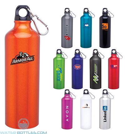 Custom Water Bottles - H2Go Aluminum Classic Water Bottles | 24 oz