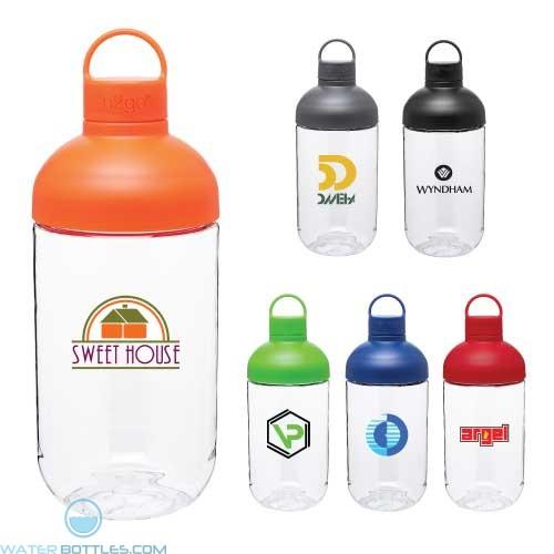 Personalized Water Bottles - H2Go Capsule Bottle   34 oz