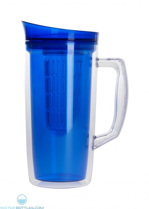 The Infuser Pitcher   34 oz - Blue