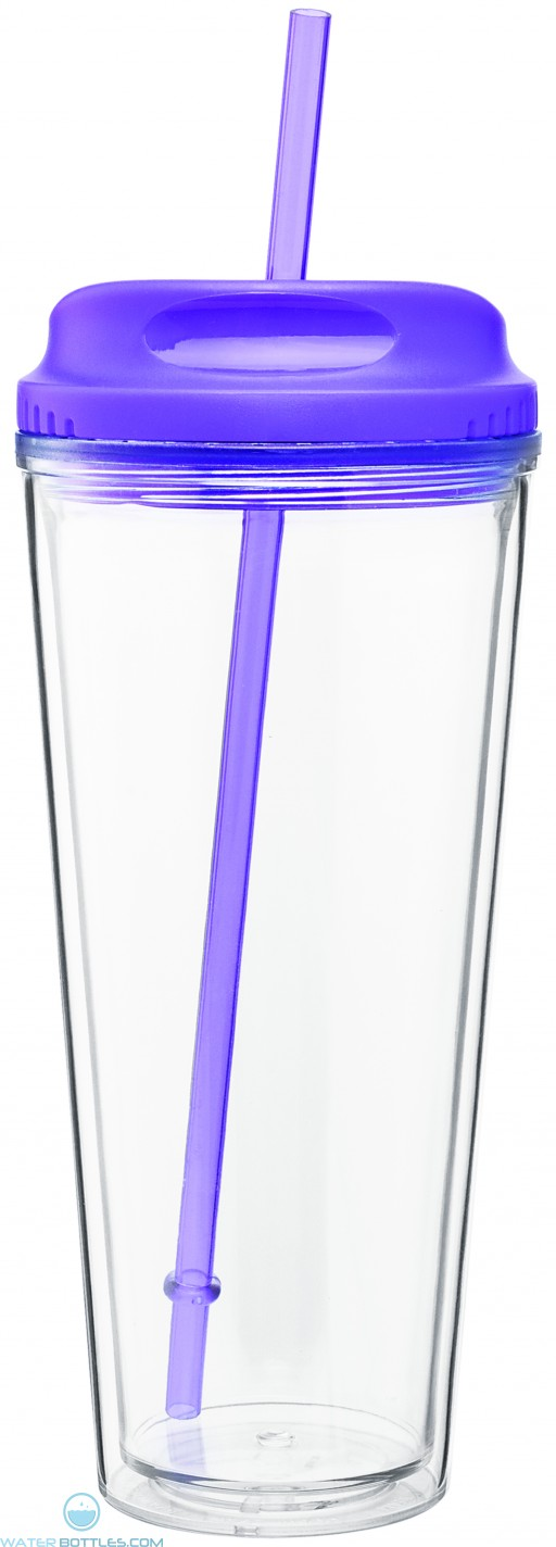 Spirit Tumblers with H/C Lid | 20 oz - Purple