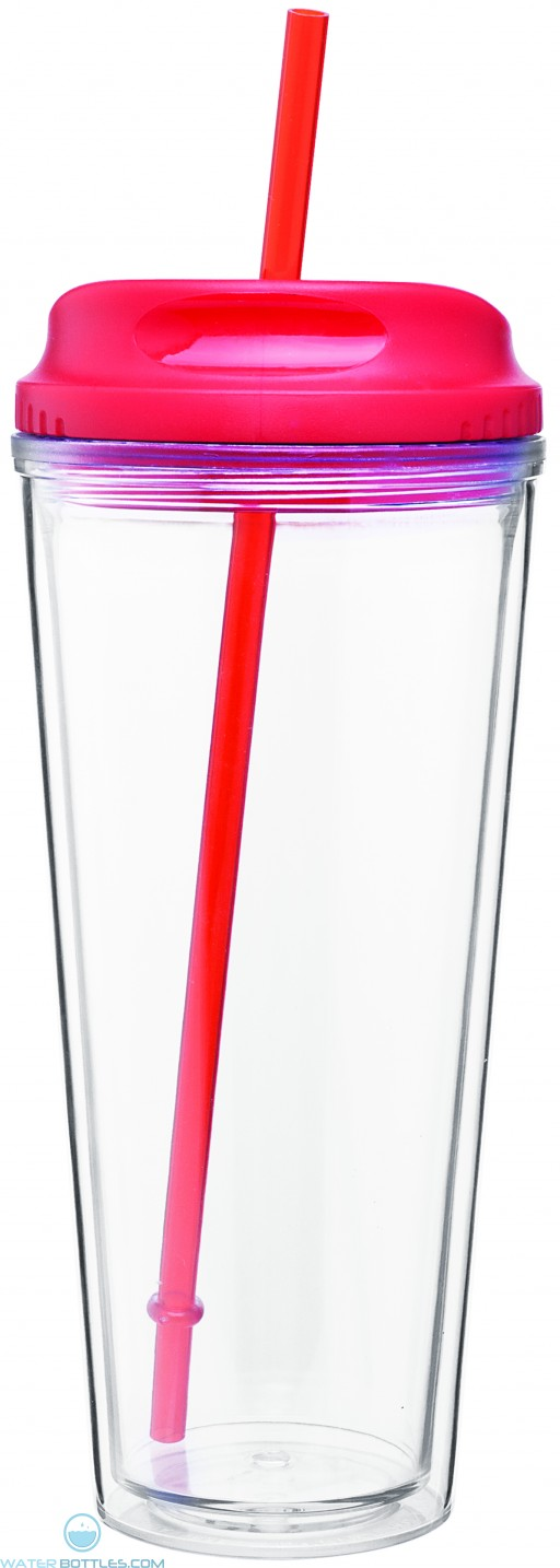 Spirit Tumblers with H/C Lid | 20 oz - Red