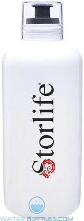 H2go Porcelain Vida Water Bottles | 27 oz - Black