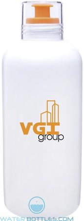 H2go Porcelain Vida Water Bottles | 27 oz - Orange