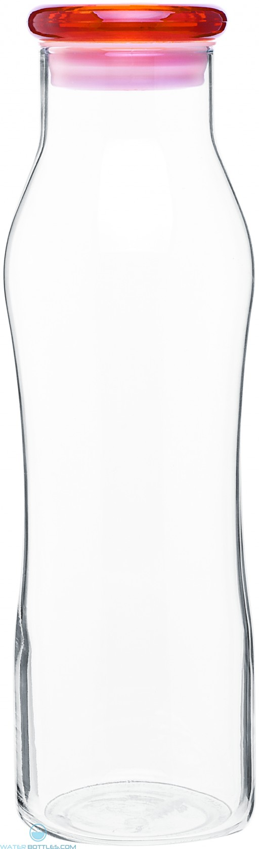 H2Go Vue Glass Bottles   20 oz - Tangerine
