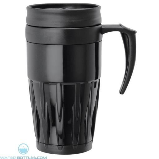 Double Wall PP Mugs | 14 oz - Black