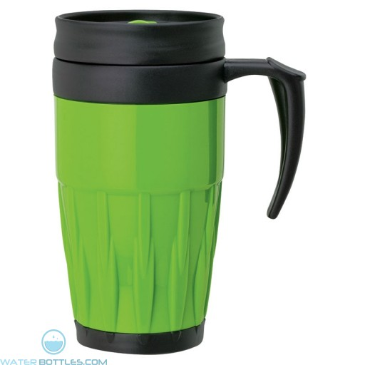 Double Wall PP Mugs | 14 oz - Green