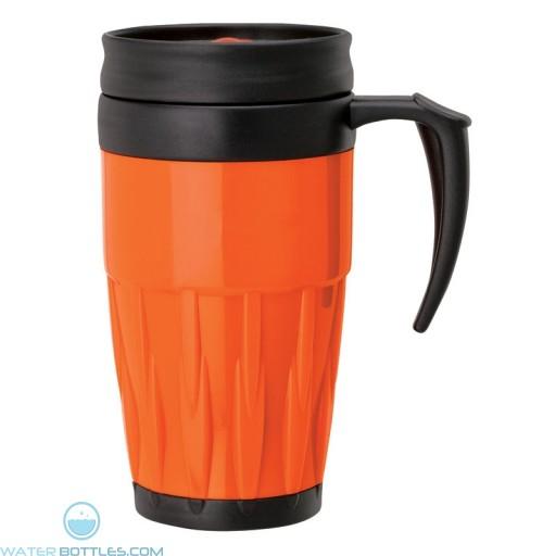 Double Wall PP Mugs | 14 oz - Orange