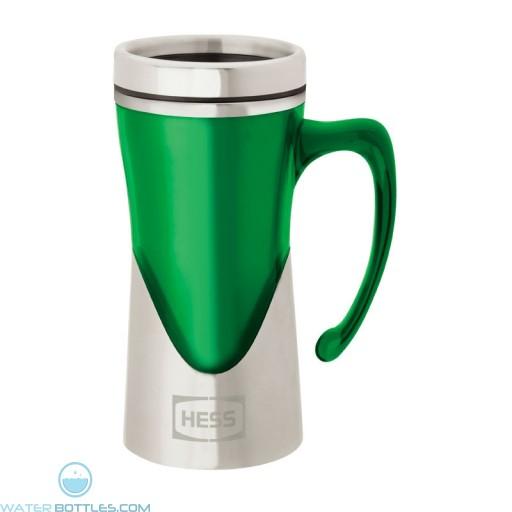 Acrylic / Stainless Steel Mugs   14 oz - Green