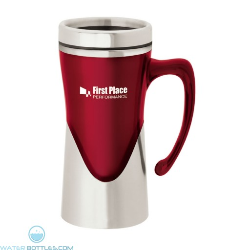 Acrylic / Stainless Steel Mugs | 14 oz - Red