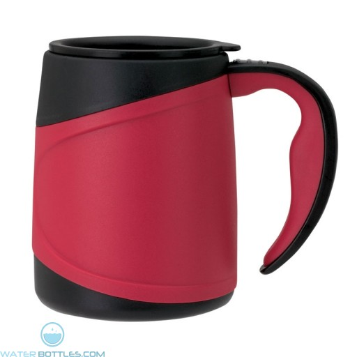 Microwavable Double Wall Mugs | 15 oz - Red