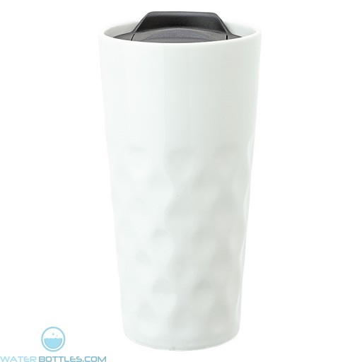 Ceramic Travel Tumblers | 15 oz - White