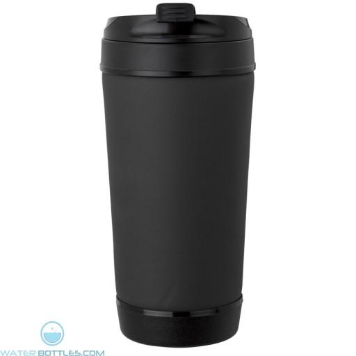 Perka Insulated Spill-Proof Mugs | 17 oz - Black