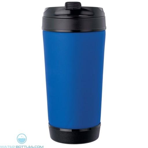 Perka Insulated Spill-Proof Mugs | 17 oz - Blue