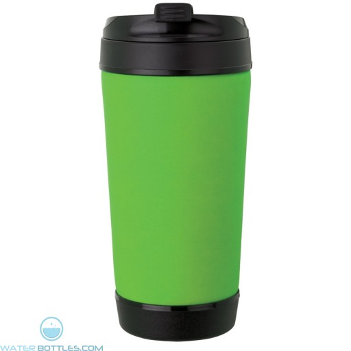 Perka Insulated Spill-Proof Mugs | 17 oz - Lime Green