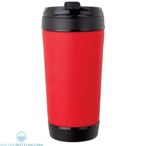 Perka Insulated Spill-Proof Mugs   17 oz - Red