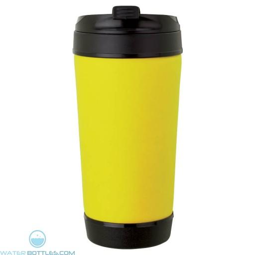 Perka Insulated Spill-Proof Mugs | 17 oz - Yellow