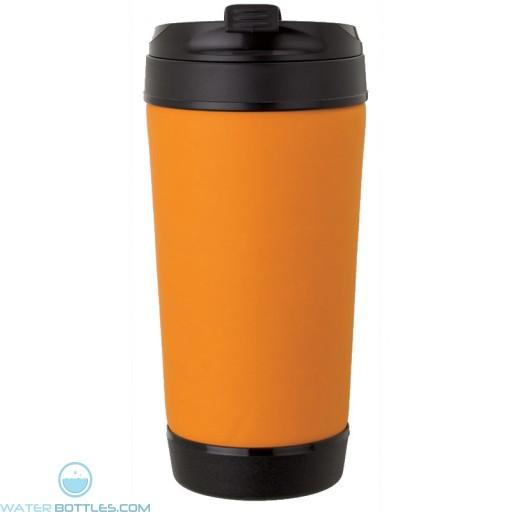 Perka Insulated Spill-Proof Mugs   17 oz - Orange