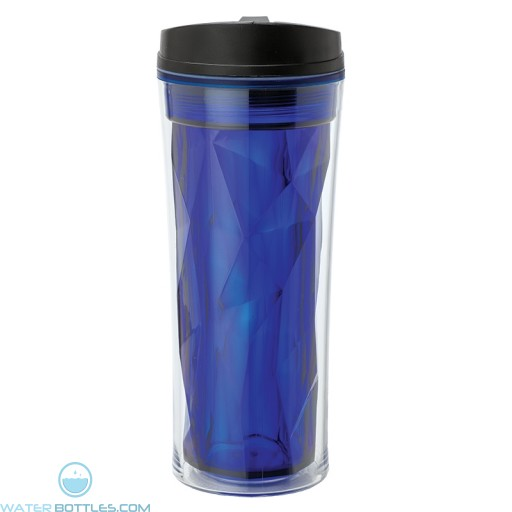 Double Wall AS Tumblers   16 oz - Blue