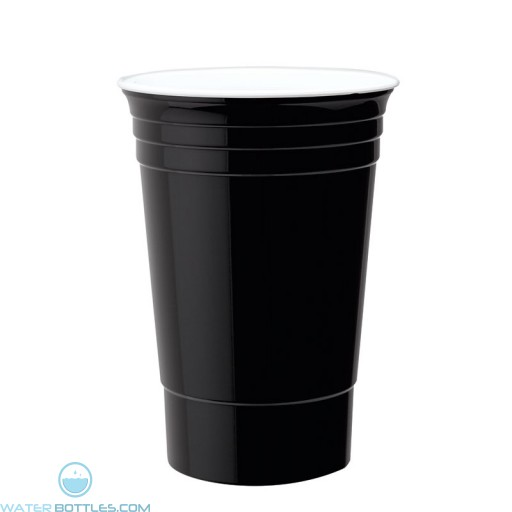 Double Wall Party Cup | 16 oz - Black