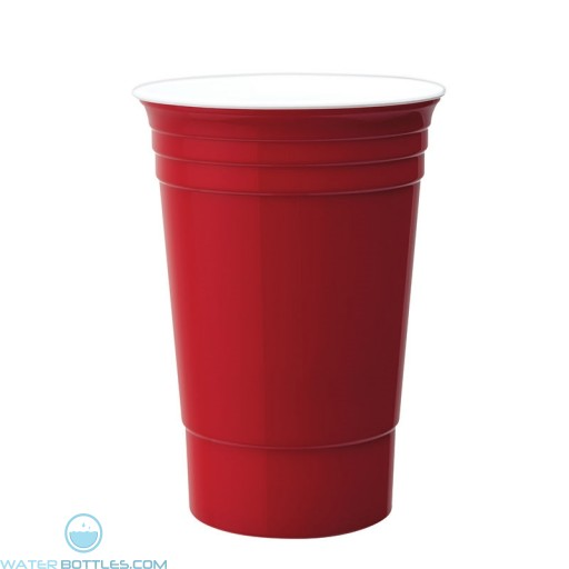 Double Wall Party Cup | 16 oz - Red