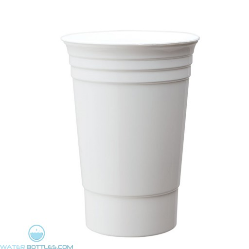 Double Wall Party Cup | 16 oz - White