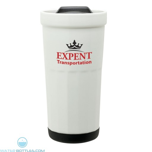 Logo Tumblers - Personalized Ceramic Travel Tumbler | 16 oz