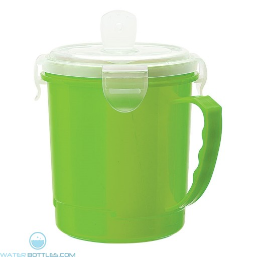 Soup Cup   24 oz - Lime Green