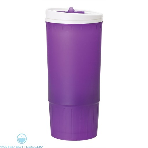 Double Wall PP Tumblers | 20 oz - Purple