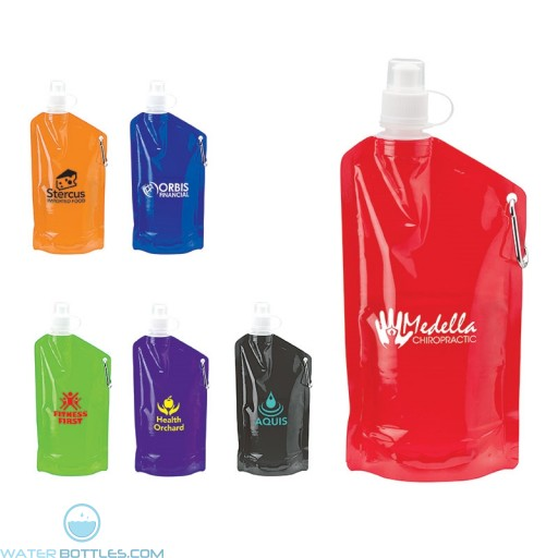 Promotional Soft Water Bottles - Custom Logo PE Water Bottles | 25 oz