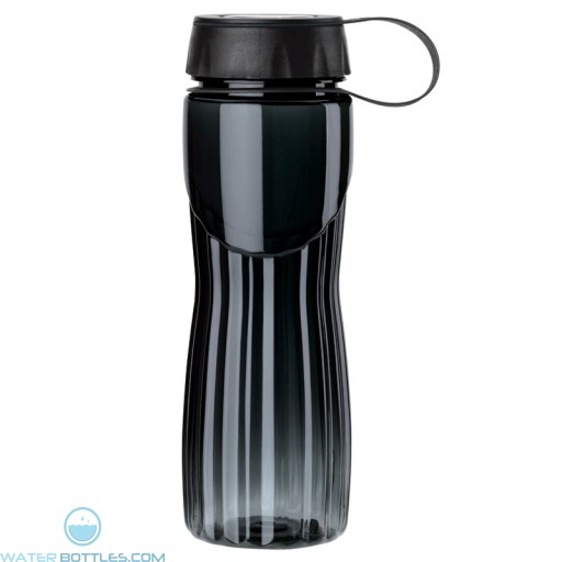 PETE Water Bottles | 24 oz - Black