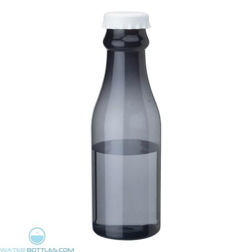 PP Water Bottles | 23 oz - Smoky Bottles with White Bottles Cap