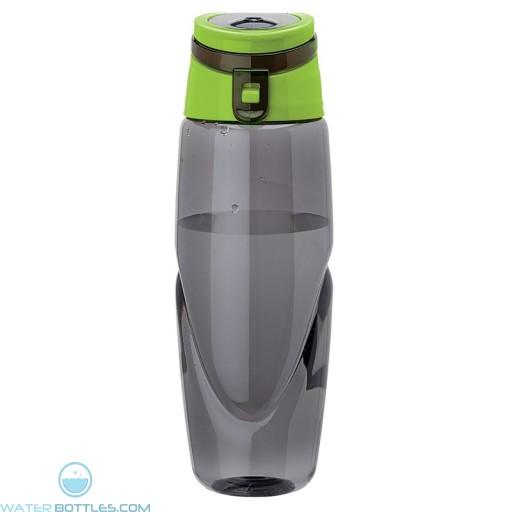 Tritan Water Bottles | 32 oz - Smoky Bottles with Green Spout